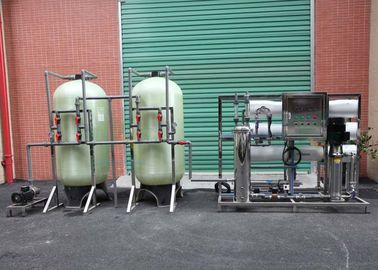 Stainless / Carbon Steel Industrial Reverse Osmosis Equipment With 3T/H Capacity