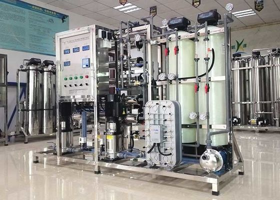 EDI Water Treatment Plant 3ph Ultrapure Water System For Painting